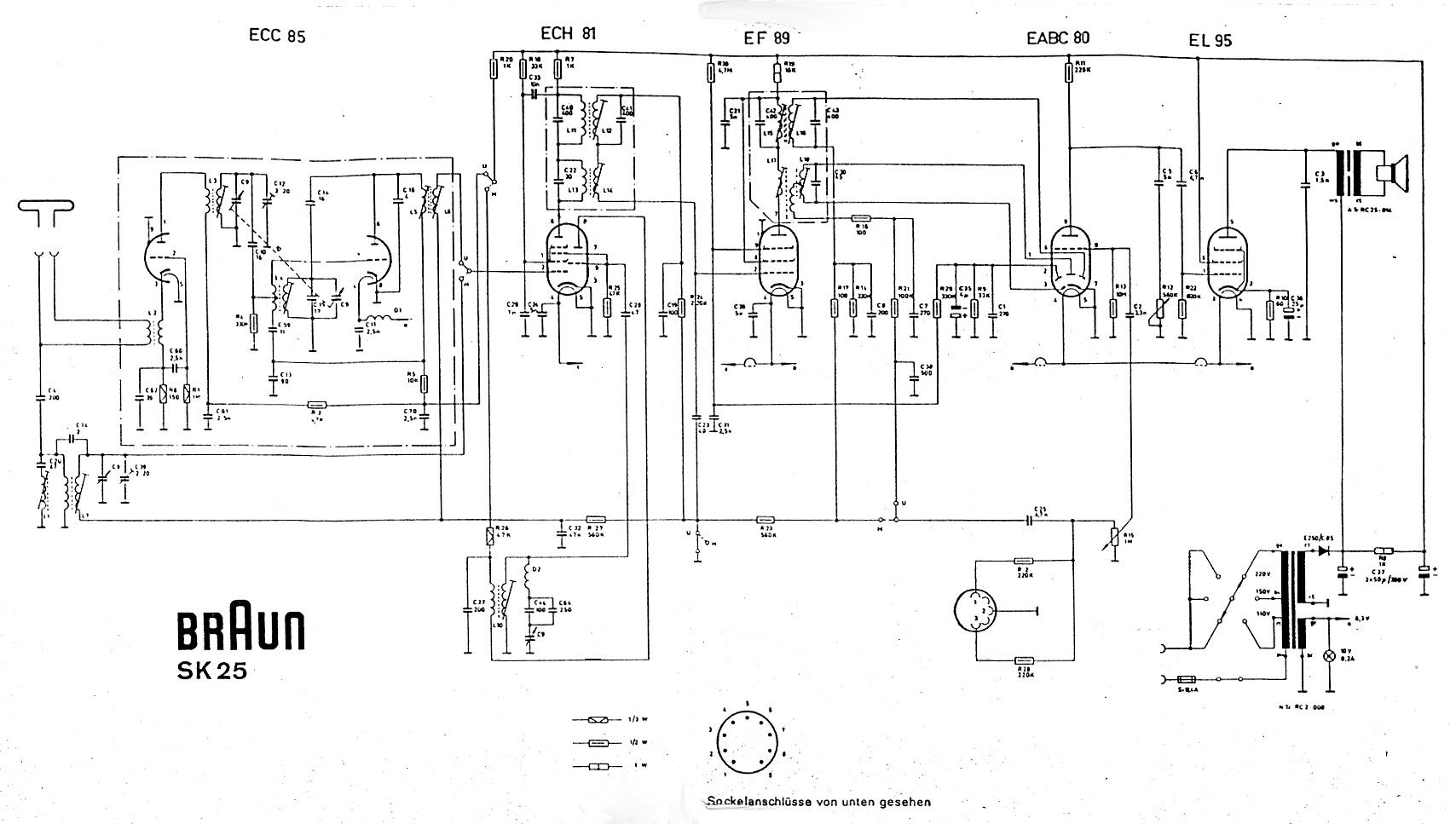 Dampfradioforum • Thema anzeigen - Braun SK25